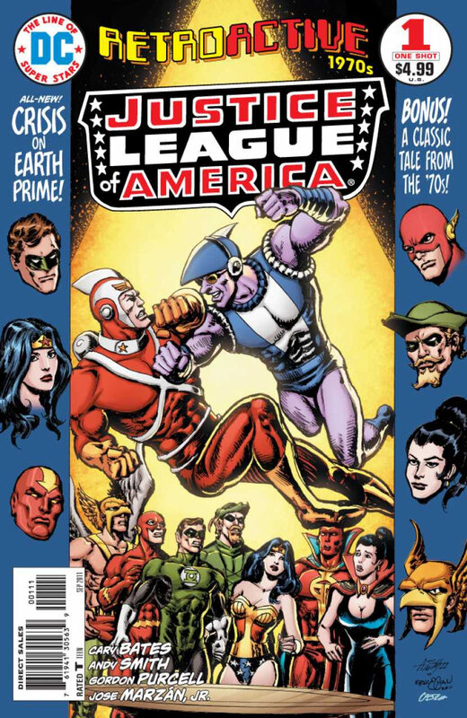 DC retroactive JLA 1970's