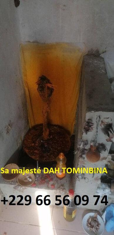 Le rituel vodoun pour trouver un emploi - sa majesté Dah TOMINBINA