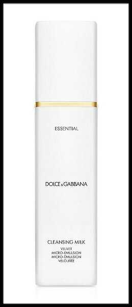 dolce & gabbana essential cleansing milk