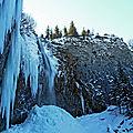 la grande Cascade, au Mont-Dore