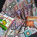 Granny blanket... j'aime ....