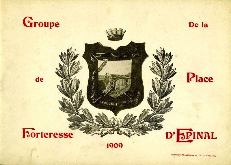 Groupe de forteresse de la place d'Epinal.