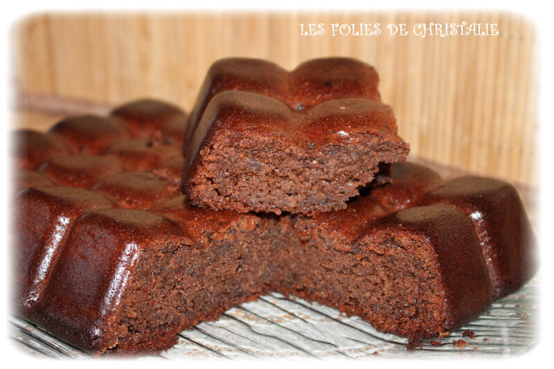 Brownie chocolats cerises 3