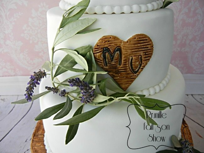 wedding cake nature lavande olivier bois prunillefee 2