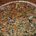 Flan aux champignons ( thermomix)