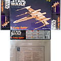 X-wing limited gold edition amt ertl