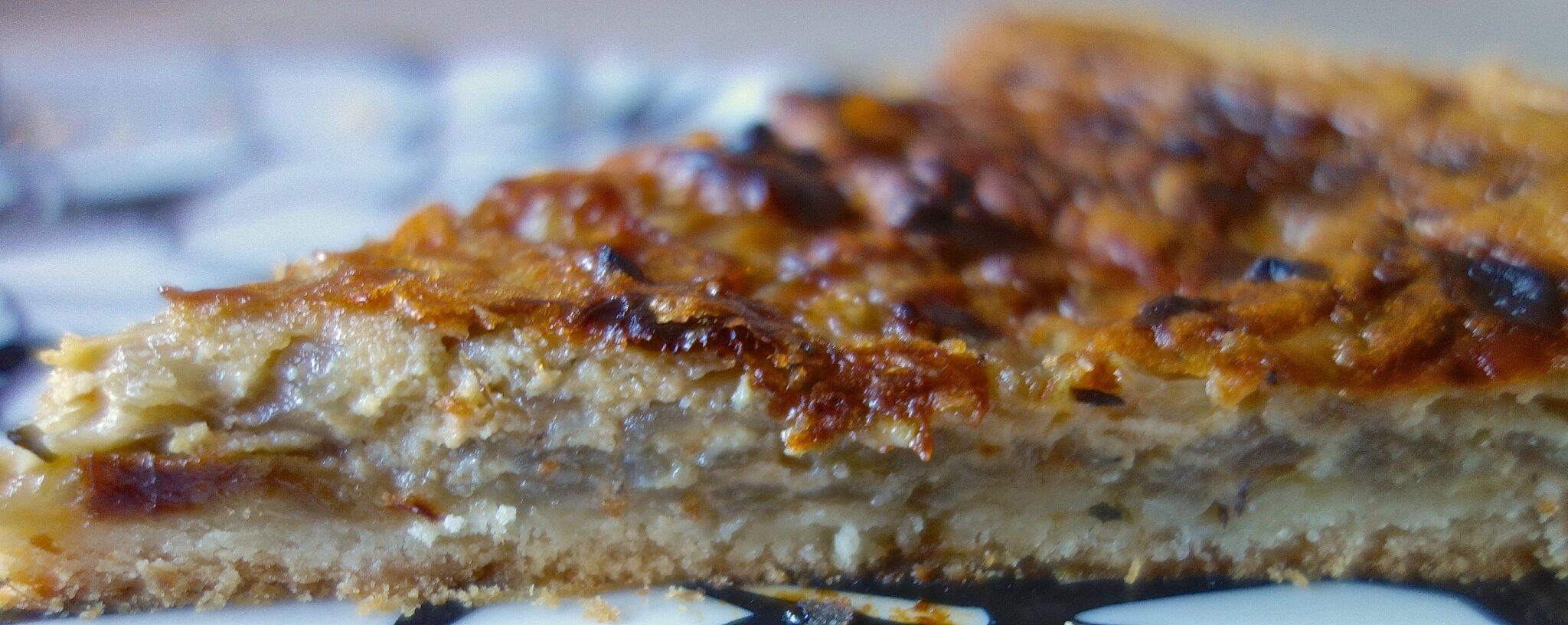 tarte aux oignons de Roscoff