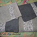 Serviettes et gants customisés