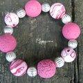 bracelet rose pop