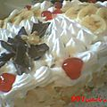 Cake aux chantilly