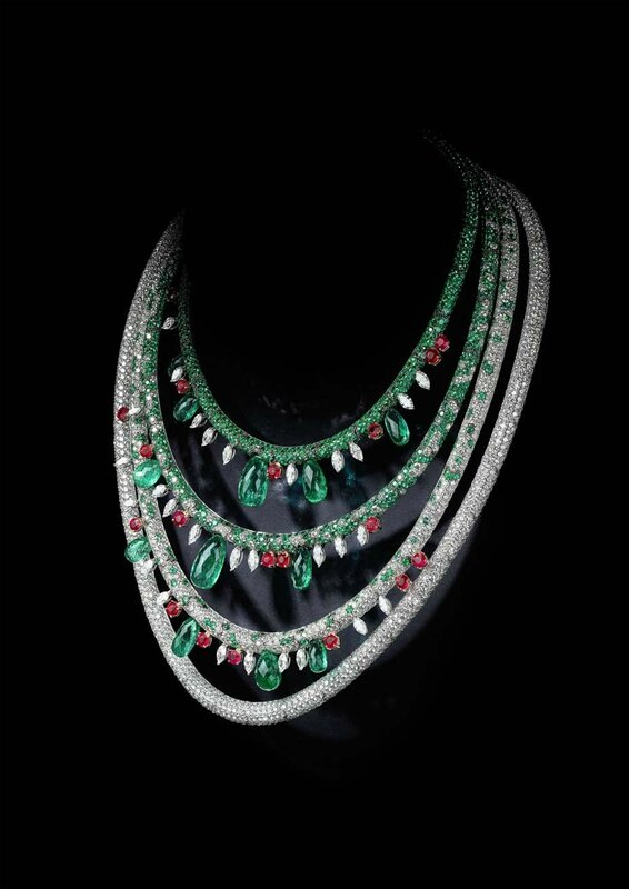 Best jewellery_Basel 2015_de GRISOGONO necklace