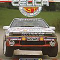 TOYOTA CELICA RALLY GT