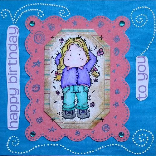 Carte anniversaire Maybelline 2008
