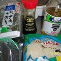 Chirashi (bol de riz japonais, accompagné de saumon cru)
