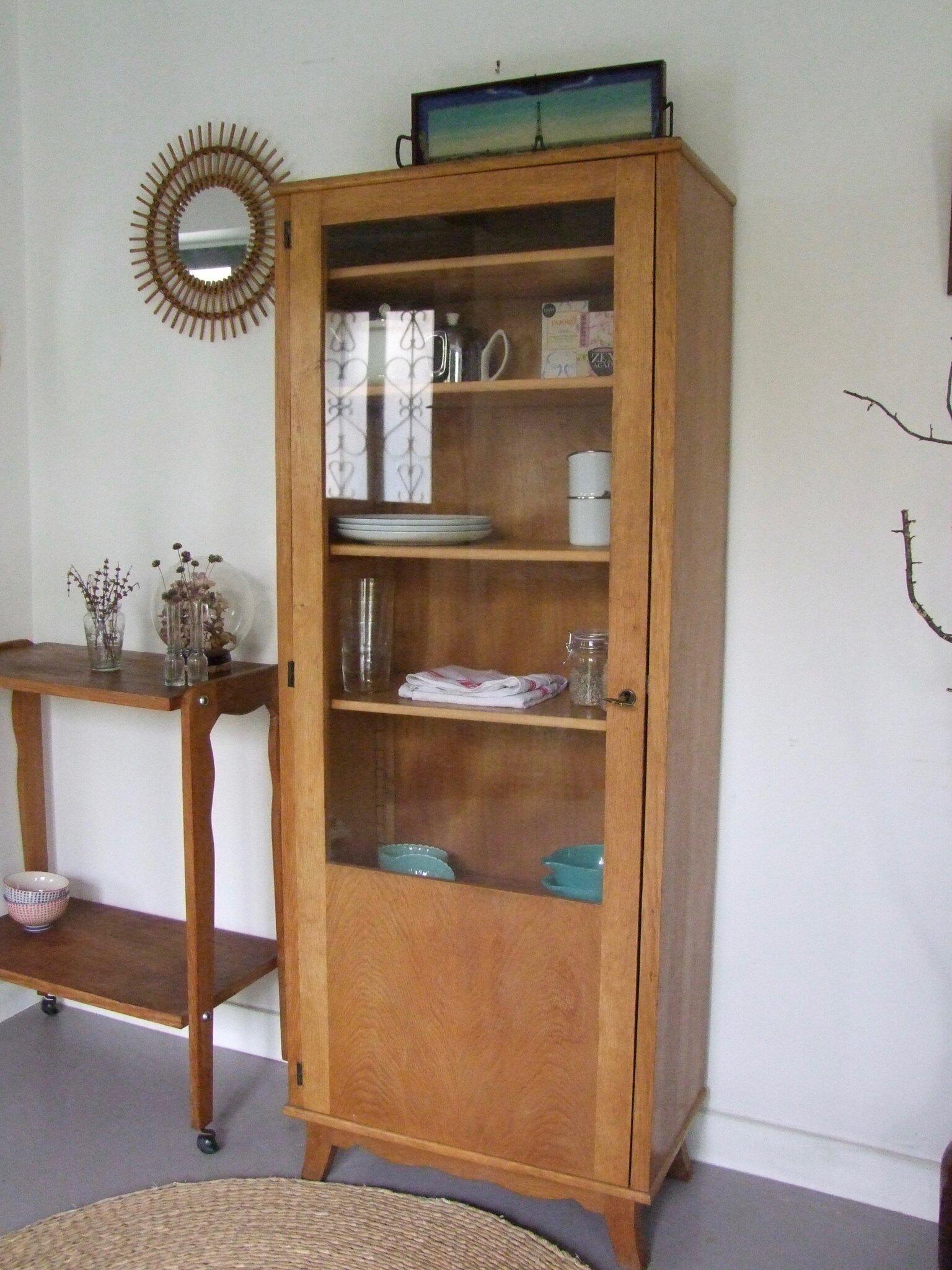 Armoire vaisselier vintage abby meubles vintage pataluna chin s d nich s et d lur s - Meubles chines ...