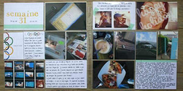 Project Life Semaine #31 (0)