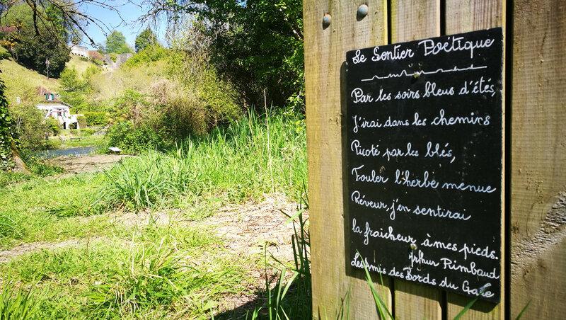 Sauveterre-De-Béarn, sentier des poètes (64)