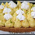 P'tite tarte au citron façon michalak