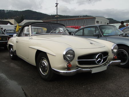 MERCEDES BENZ 190 SL Convertible 1954 1963 Bourse Echanges de Vagney 2010 1