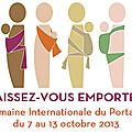 Semaine internationale du portage en echarpe