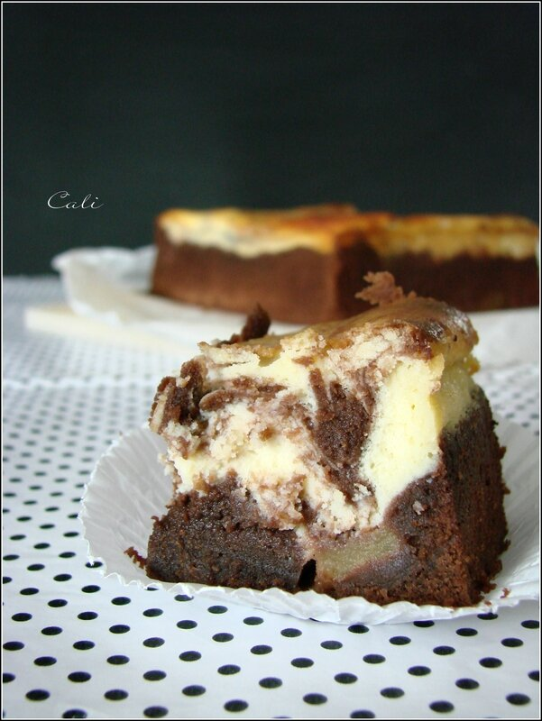 Cheesecake Brownie aux Pommes 004
