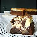 Cheesecake brownie aux pommes