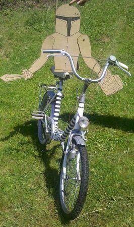 11Francis en vélo