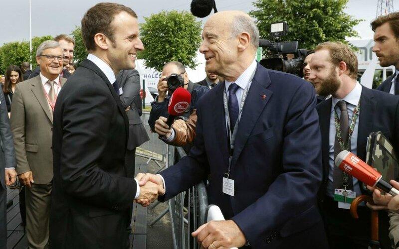 Macron-Juppe