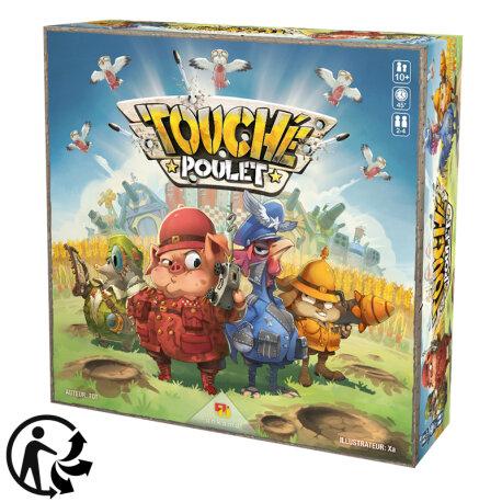 Boutique jeux de société - Pontivy - morbihan - ludis factory - Touché poulet