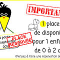 Place disponible