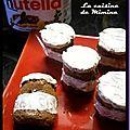 Mini pots de nutella à dévorer (gâteau)