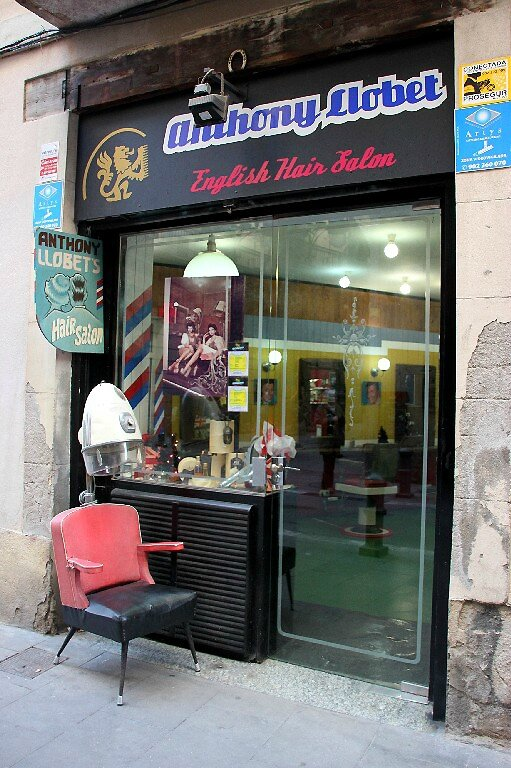 Barcelone, Coiffeur_5019