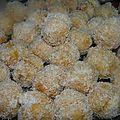 Boule noix de coco spécial ramadan