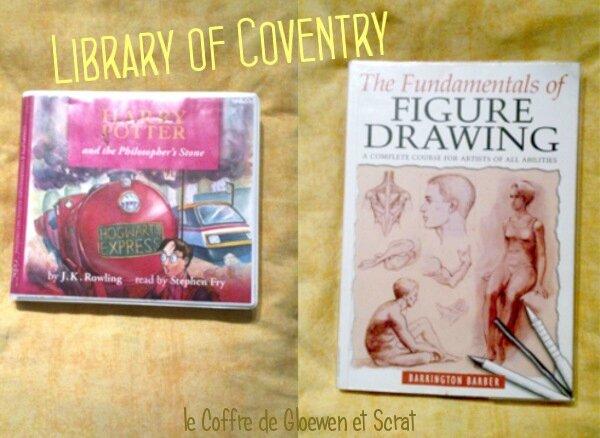 Nos premiers livres emprunté à la bibliothèque chez gloewen et scrat