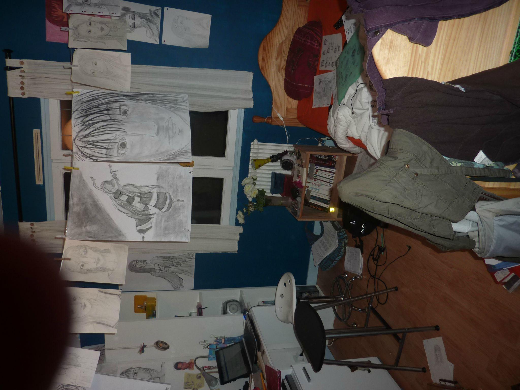 La chambre en bordel - le baz\'ART