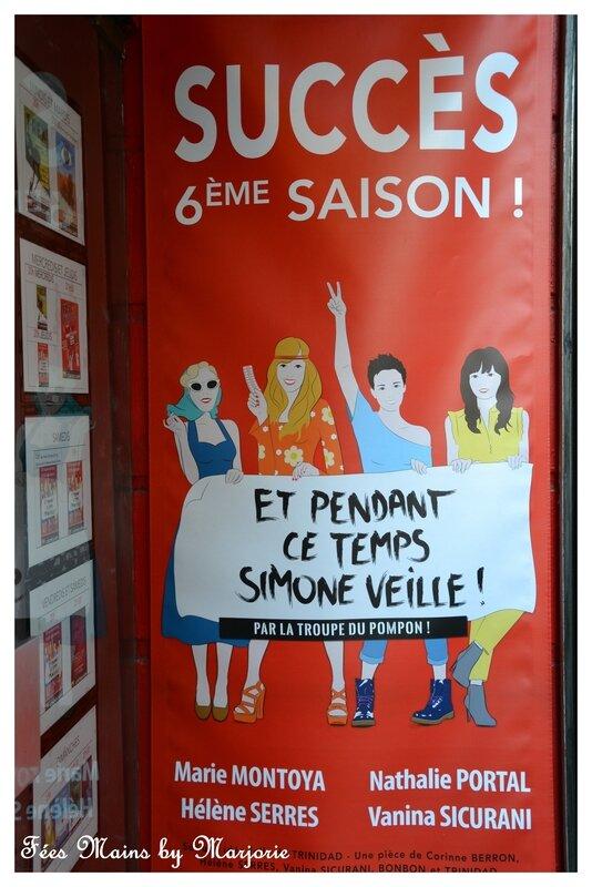Paris avril 2018 Théâtre Et pendant ce temps Simone veille