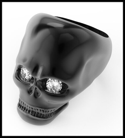 divinescence collection skull bague 6