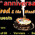 08) Fred & the Healers + guests (Spirit of 66 - 02 juin 2015)