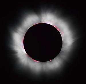 Autriche Vienne Eclipse totale