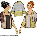 Decades of style - 1920 tunic with kimono sleeve
