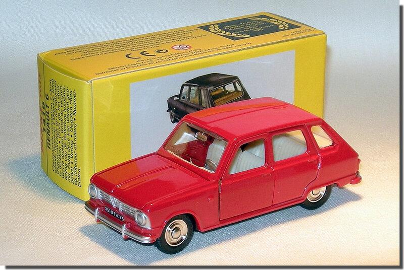 Dinky Atlas Renault 6 Rouge A2