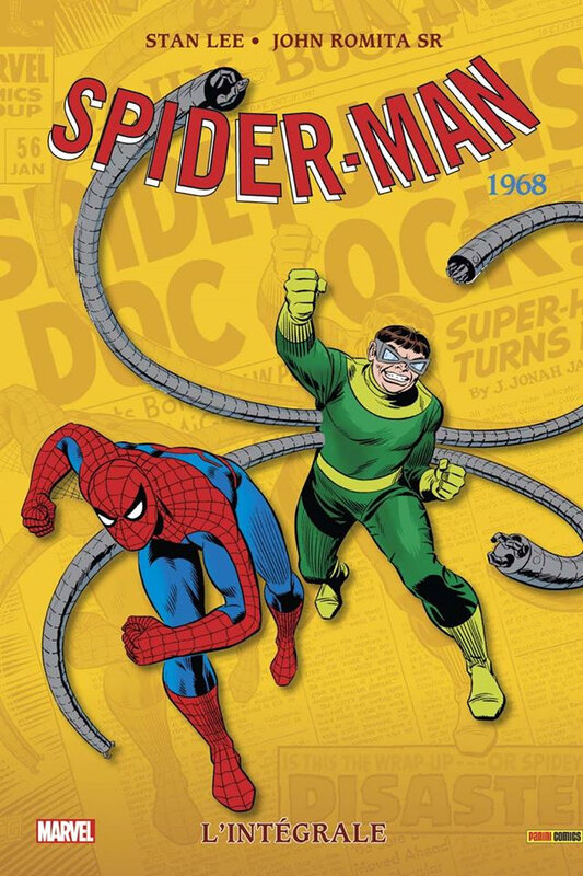 intégrale spiderman 1968 NED