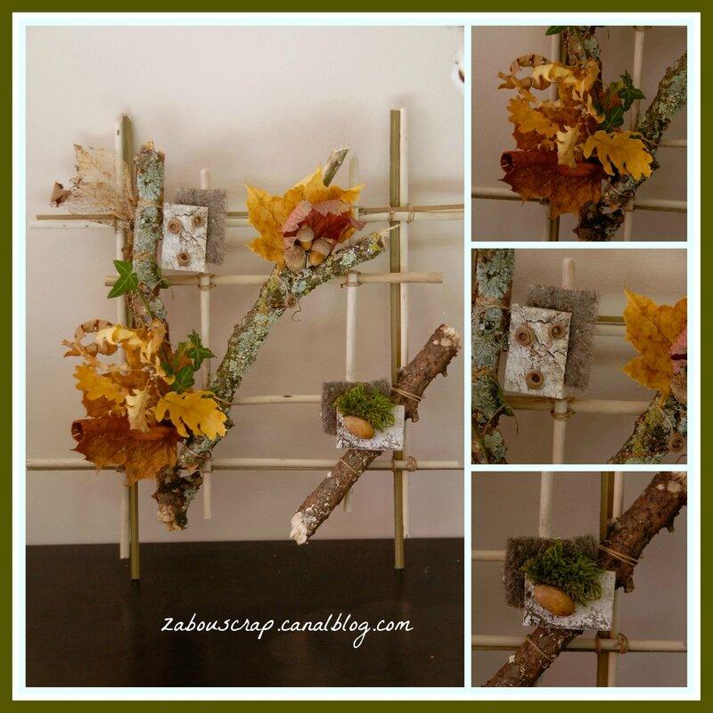 compo floral automne