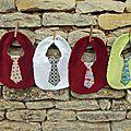 Cravate à poids, cravate de soie...