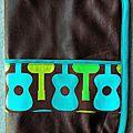 Protège carnet de santé guitares