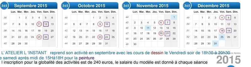 calendrier-2015 atelier sept to dec