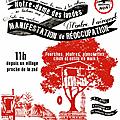 Manifestation pacifique le 17 novembre à nd des landes