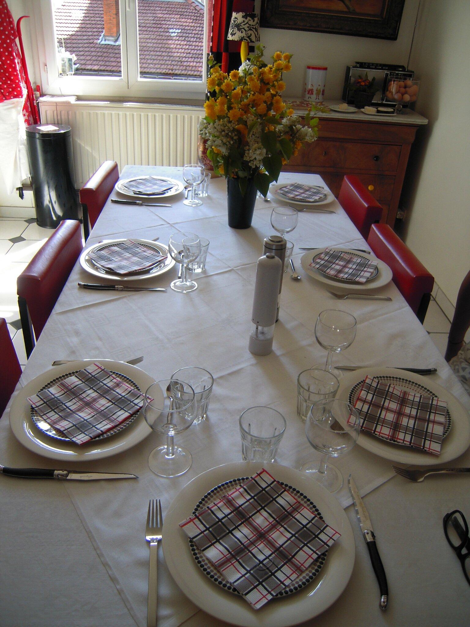 table de Pâques 2012