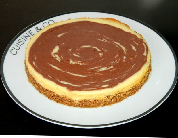 Cheesecake vanille cacao