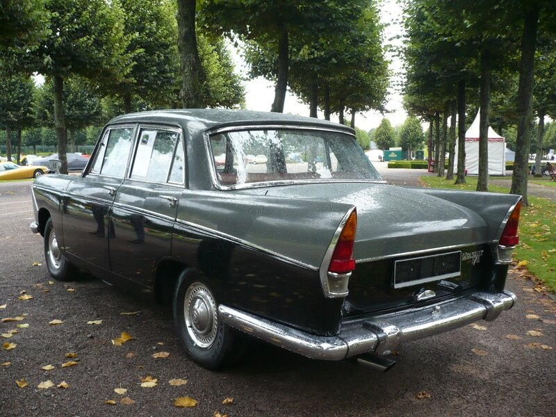 WOLSELEY 15-60 berline 4 portes par Pininfarina 1959 Schwetzingen (2)